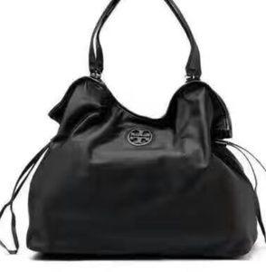 Tory Burch Nylon slouchy tote bag like new